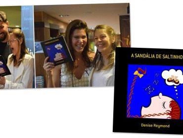 Mãe de Cauã Reymond acaba de lançar novo livro infantil. Aos detalhes!