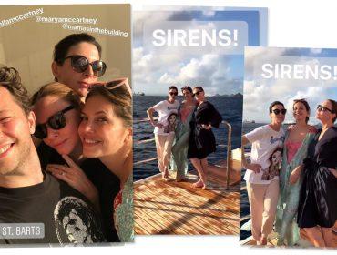 Stella McCartney e amigas estão fervendo em St. Barths pré-réveillon!
