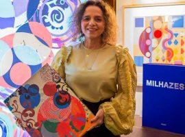 Livro que homenageia o trabalho de Beatriz Milhazes será lançado no Brasil