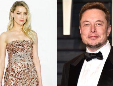 """Depois de seis meses """"separados"""", Amber Heard e Elon Musk voltam a namorar"""