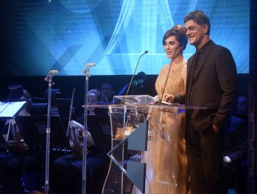 Christiane Torloni e Du Moscovis comandaram a entrega do Prêmio Cesgranrio de Teatro no Rio