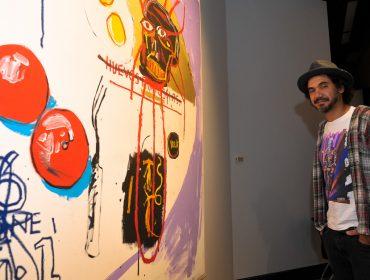 """791f9d98a3552 Abertura da exposição """"Jean-Michel Basquiat – Obras da coleção Mugrabi"""" ..."""