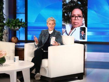 Ellen DeGeneres e Oprah se emocionam ao falar dos desmoronamentos na Califórnia