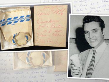 Copo de papel usado por Elvis Presley em 1956 é vendido em leilão online por mais de R$ 10 mil