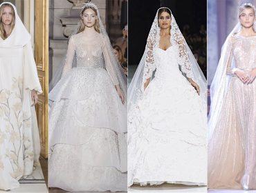 Para inspirar – e suspirar – 10 vestidos de noiva da semana de moda de alta-costura de Paris