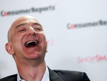 Fortuna de Jeff Bezos bate novo recorde e faz dele a pessoa mais rica de todos os tempos