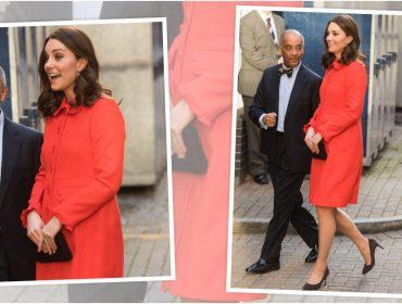 Kate Middleton aparece em público sem anel de noivado, mas há uma explicação…