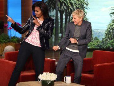 Michelle Obama tem encontro marcado com Ellen DeGeneres na próxima quinta. Aos fatos!