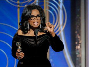 Discurso de Oprah no Globo de Ouro ressuscita campanha para que ela concorra à presidência