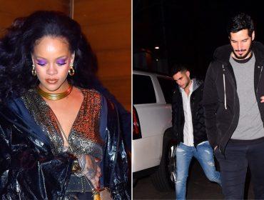 Rihanna aproveita after party do Grammy para curtir balada com namorado saudita