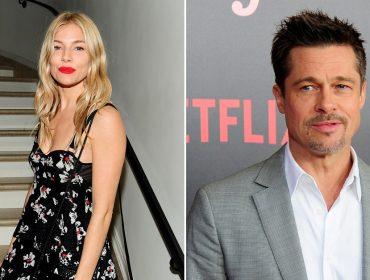 Sienna Miller e Brad Pitt já pensam em assumir namoro enquanto são caçados pelo paparazzi