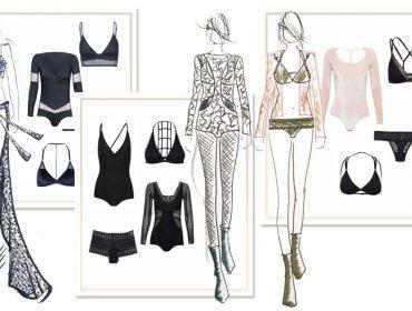 Marca brasileira de lingeries desfila sua coleção na Semana de Moda de Nova York