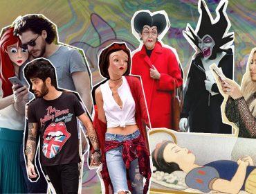 Artista cria mundo alternativo misturando celebridades e personagens da Disney