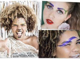 Folia Glamurama dá a letra: decorar as sobrancelhas é tendência para este Carnaval…