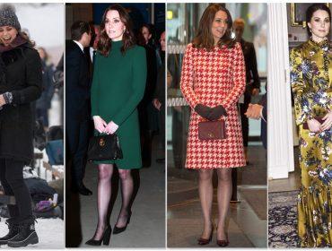 Kate Middleton aposta em looks descontraídos em tour real pela Suécia