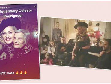 Madonna leva cantora icônica de fado para animar sua festa de Réveillon em NY