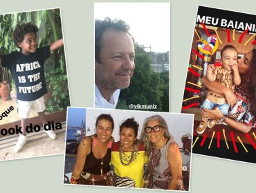 Regina Casé armou uma festa das mais animadas em Salvador nesse domingo…