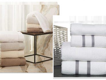 Hora do Banho! Está aberta a temporada de toalhas da Trousseau