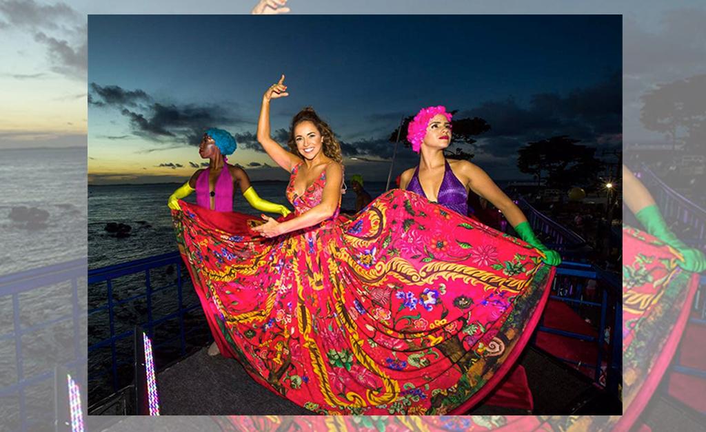 092a4d088 Daniela Mercury sobe no palco com Claudia Leitte e diz que Carnaval ...