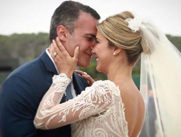 Glamurettes em peso em Punta del Este para o casamento de Laurita Mourão e Marcelo Falcone