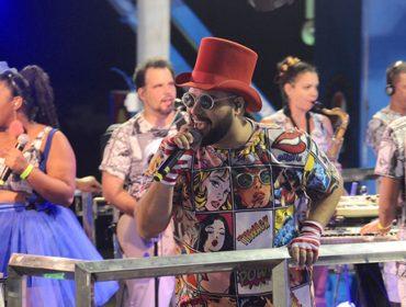 """Tiago Abravanel se apresenta em Salvador e aposta em """"Tic Nervoso"""" como hit do Carnaval 2018"""