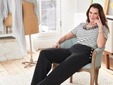 Brooke Shields, enfim, terá uma coleção de moda para chamar de sua. Entenda!