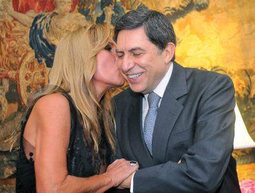 Lucilia Diniz e Luiz Carlos Trabuco curtiram virada do ano na Ilha de Comandatuba