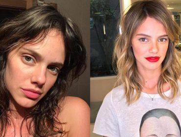 Conheça a nova loira do pedaço: a atriz Laura Neiva começa 2018 de visual novo