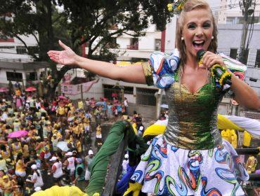 Carla Perez, Patati Patatá e Xandy: Carnaval de Salvador é só diversão para as crianças