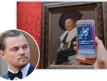 """DiCaprio investe R$ 6 mi em app polêmico que se autointitula o """"Shazam das artes"""""""