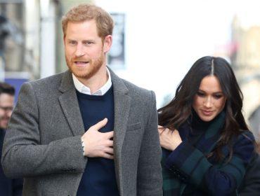 Envelope com pó branco endereçado ao príncipe Harry e Meghan Markle causa pânico em Londres