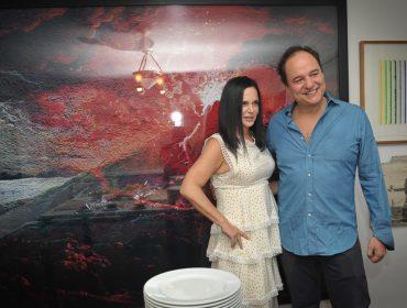 O jantar chez Jacqueline Shor e José Maria Ledesma para os artistas cubanos Alexandre Arrechea e Carlos Garaicoa