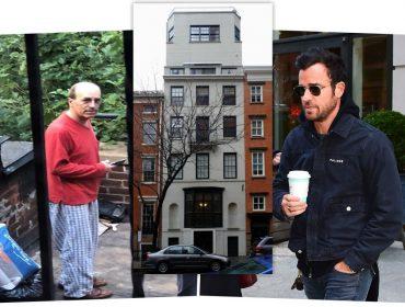 Vizinho de Justin Theroux culpa o ator pelo fim do casamento com Jen Aniston. Oi?