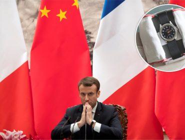 """Emmanuel Macron trocou relógio da Cartier por modelo """"baratinho"""". Saiba o motivo!"""