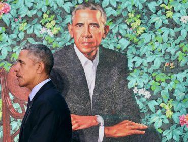 Recém-divulgado, retrato oficial de Obama pode ter sido pintado na China!