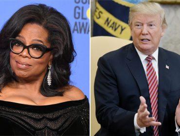 Oprah nega candidatura à Casa Branca e Trump aproveita para atacar a apresentadora