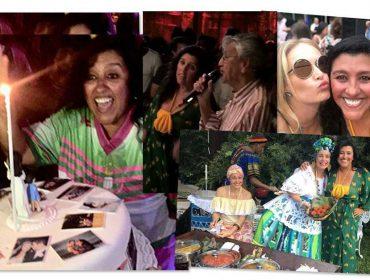 Regina Casé comemora aniversário com festão recheado de samba, amigos e animação sem fim