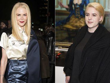 Nicole Kidman interrompe silêncio e fala sobre a empreitada da filha adotiva na moda