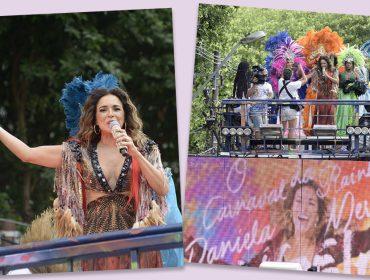 Daniela Mercury sobe no trio em Salvador seguida por uma legião de súditos
