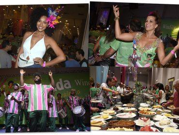 Feijoada Carnavalesca do Windsor Barra contou com a presença de globais e glamurettes