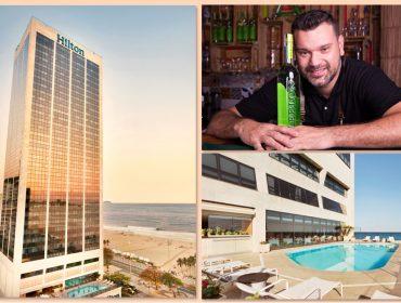 Agende-se! Está aberta a temporada de happy hour à beira mar no Hilton Rio de Janeiro
