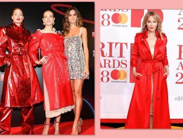 Vermelho usado com atitude é escolha em comum das estilosas da semana