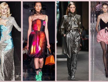 Semana de moda de Milão transforma exageros dos 1980 em must have