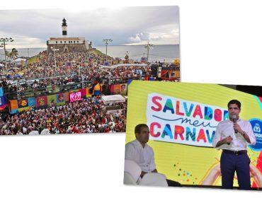 Prefeitura de Salvador garante 162 atrações sem cordas no Carnaval
