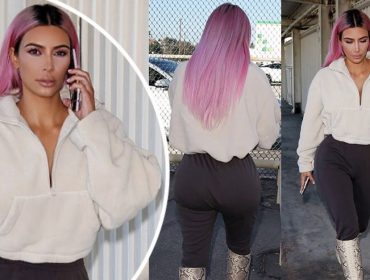 Pink lemonade: a tendência de cor nos cabelos aprovada por Kim Kardashian