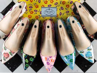 Prada traz ao Brasil serviço de customização de sandálias e pumps