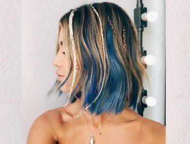 Manu Gavassi surge de cabelo azul e Glamurama entrega o passo a passo da transformação