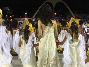 Quem passou despercebida pela Praça da Apoteose no RJ? Marisa Monte…