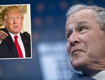 """George W. Bush anda falando mal de Trump: """"Comparado a ele nem fui tão ruim quanto alguns dizem por aí…"""""""