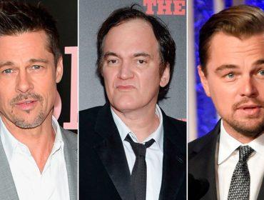 Brad Pitt e Leonardo DiCaprio estão confirmados no novo filme de Tarantino. Uau!